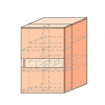 Тумба с выдвижным элементом Мэган-М-1