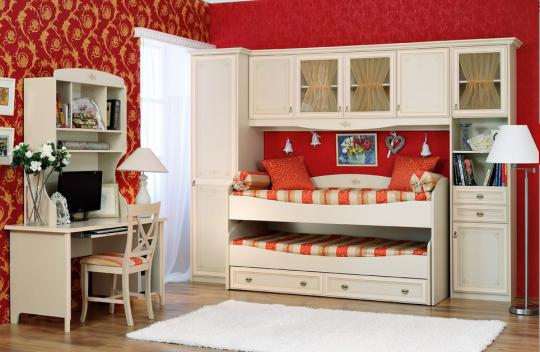 Мебель для детских комнат серия Provance-5