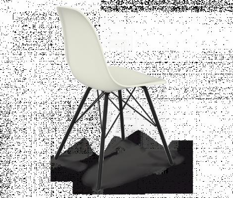 Стул Sheffilton SHT-S37 белый / черный муар-2