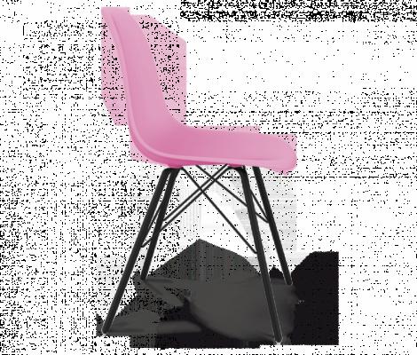 Стул Sheffilton SHT-S37 розовый Pan1905C/черный муар-1