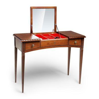 Стол туалетный с зеркалом арт. 155-1