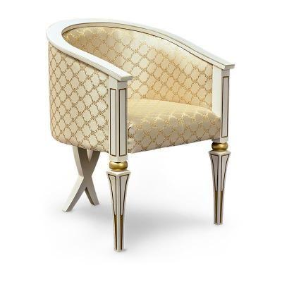 Кресло арт. 150б (с золотом/без золота)-2