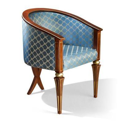Кресло арт. 150б (с золотом/без золота)-3