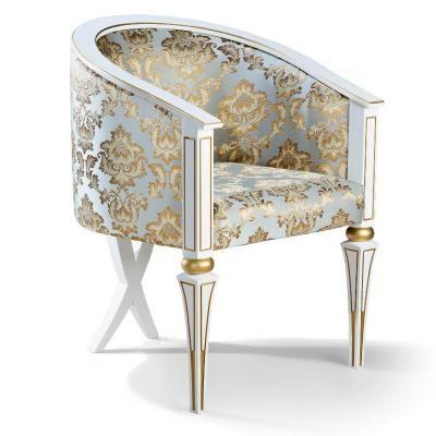 Кресло арт. 150б (с золотом/без золота)-4