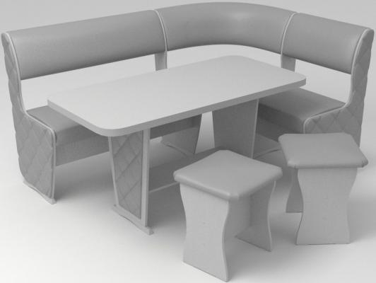 Кухонный уголок Консул-1 (Лайт) с накладками-8