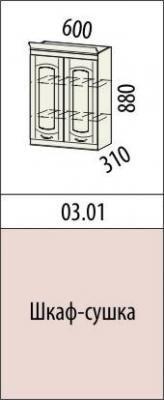 Шкаф-сушка 03.01 (60 см.)/03.02 (80 см.) Глория-3-2