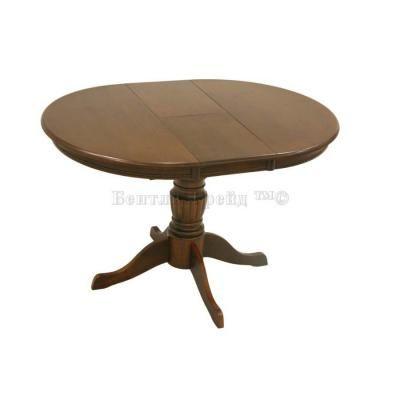 Стол обеденный YHT 90908 MNC-EXT New Walnut-1