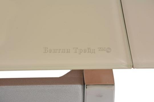 Стол обеденный S64 (80) Beige/хром-1