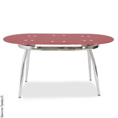 Стол обеденный S41 Red-1