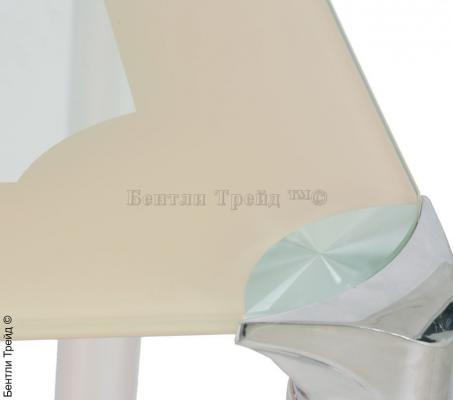 Стол обеденный (100) S206 Beige/Silver-1