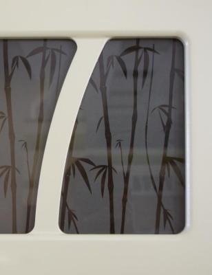 Шкаф-витрина (с системой плавного закрывания) 17.80/17.81 Тропикана-17-1