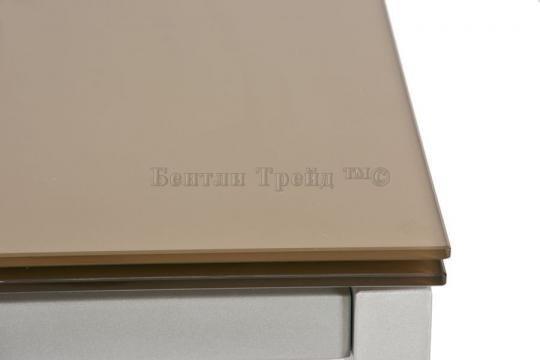 Стол обеденный S17 Шампань/Silver-1