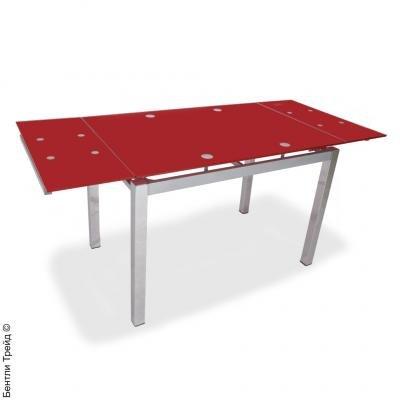 Стол обеденный S17 Red(без цветка)-1