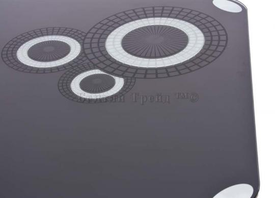 Стол обеденный S12 (110) Black/Black-1