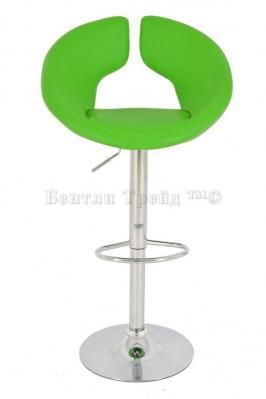 Стул барный JY-131 Green(7)-2