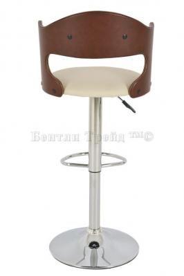 Стул барный JY-095-1 Brown/beige-1