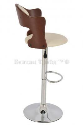 Стул барный JY-095-1 Brown/beige-3