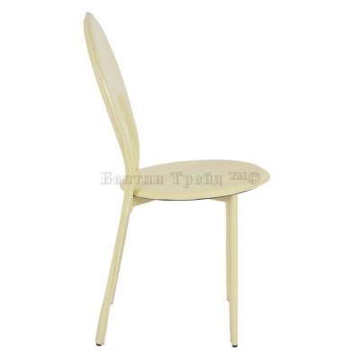 Металлический стул Y996 Beige crocodile-1