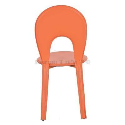 Металлический стул Y996 Orange (13130)-1