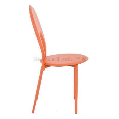 Металлический стул Y996 Orange (13130)-3