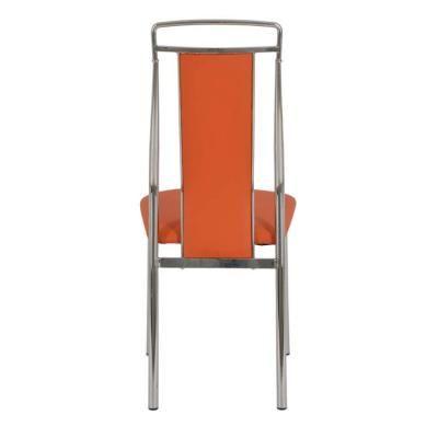Металлический стул Y368 Orange(18007)-1