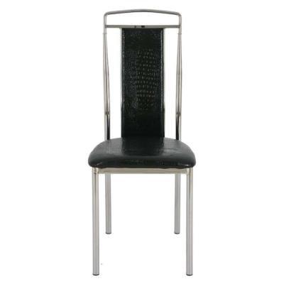 Металлический стул Y368 Black Crocodile (JX202)-2