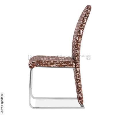 Металлический стул Y226 Dark Red fabric flower (5B)-1