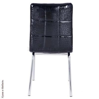 Металлический стул Y-14 Shiny black crocodile-3