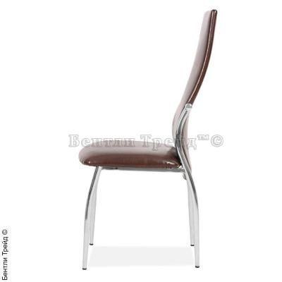 Металлический стул CK2368 Chocolate(60175)-1