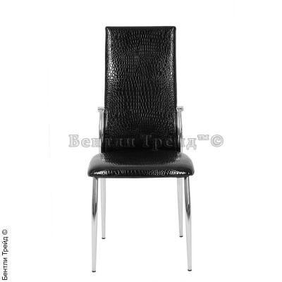 Металлический стул CK2368 Black crocodile(JX202)-2