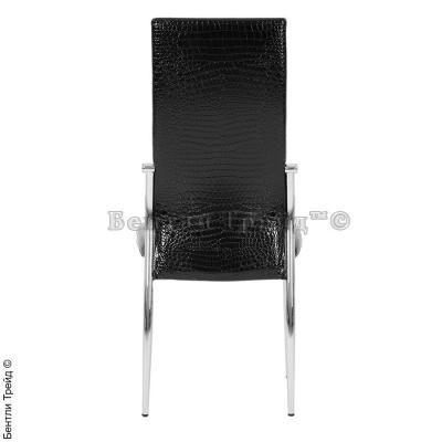 Металлический стул CK2368 Black crocodile(JX202)-3