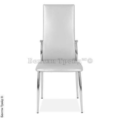 Металлический стул CK2368 Grey-Silver(40232)-2