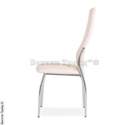 Металлический стул CK2368 Beige flower (6017-1)-1