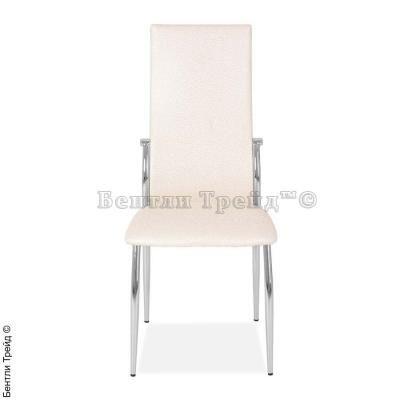 Металлический стул CK2368 Beige flower (6017-1)-2