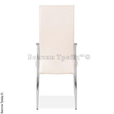 Металлический стул CK2368 Beige flower (6017-1)-3