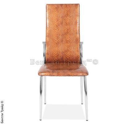 Металлический стул CK2368 Gold crocodile (078-16)-1
