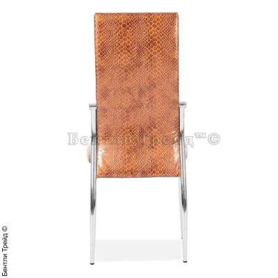 Металлический стул CK2368 Gold crocodile (078-16)-2