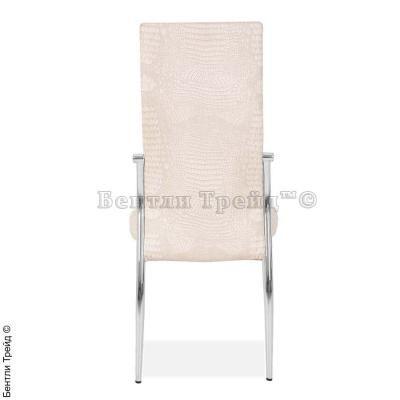 Металлический стул CK2368 Dry beige crocodile (N5852)-1