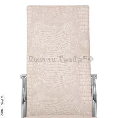 Металлический стул CK2368 Dry beige crocodile (N5852)-2
