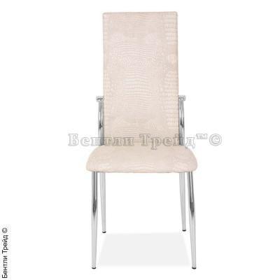 Металлический стул CK2368 Dry beige crocodile (N5852)-3