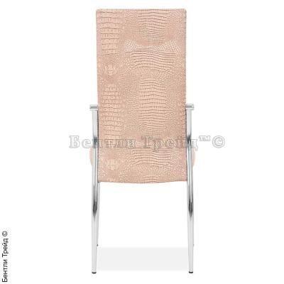 Металлический стул CK2368 Dry dust crocodile (5877)-1