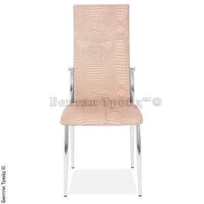 Металлический стул CK2368 Dry dust crocodile (5877)-3