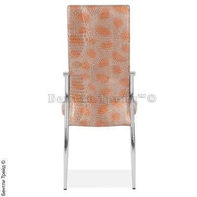 Металлический стул CK2368 Milano crocodile(8036-7)-1