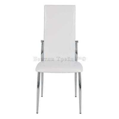 Металлический стул CK2368 Shiny White-2