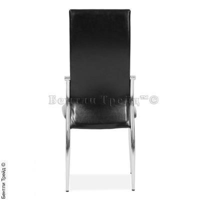 Металлический стул CK2368 Shiny black(80134)-1
