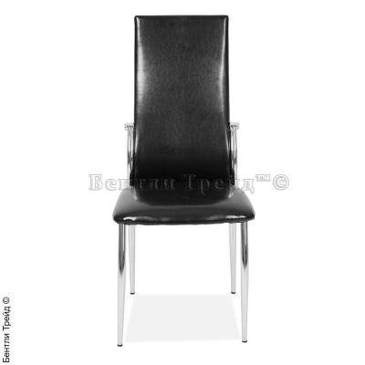 Металлический стул CK2368 Shiny black(80134)-2