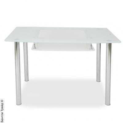 Стол обеденный T618-A Super White-1
