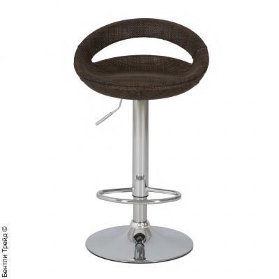 Стул барный ABS108 (COMETA) Brown(Ротанг)-1