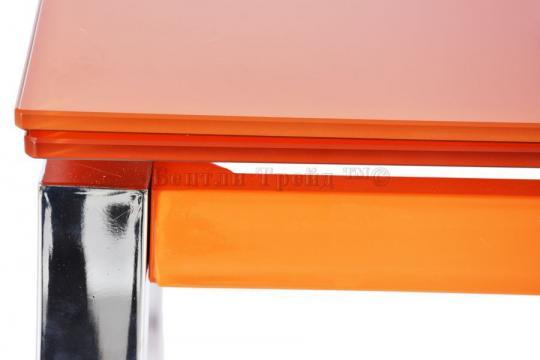 Стол обеденный раскладной B017(C) Orange (без цветка)-2