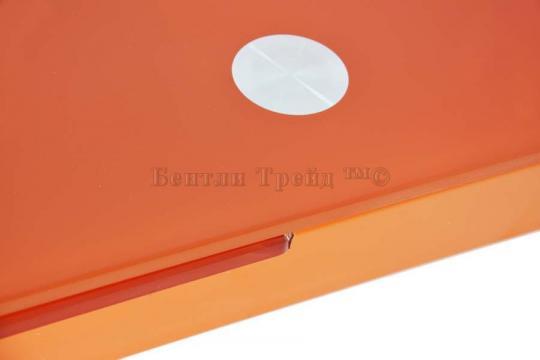 Стол обеденный раскладной B017(C) Orange (без цветка)-1